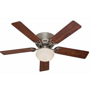 Compare & Buy 52 Low Profile® III Plus 5-Blade Ceiling Fan By Hunter Fan