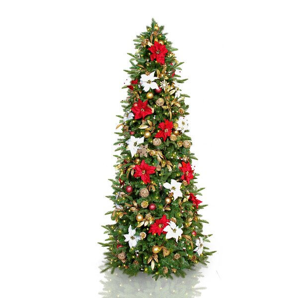The Holiday Aisle 7.5' Green Spruce Artificial Christmas ...