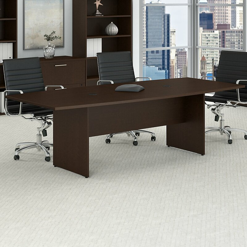 Bush Business Furniture Boat Shaped H X W X L Conference - 30 conference table