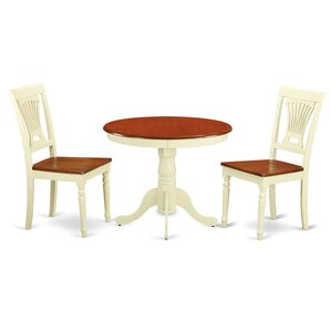 Caledonia 3 Piece Dining Set by Darby Hom..