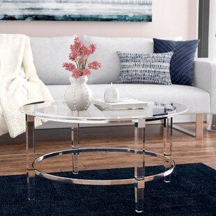 Glass Or Acrylic Coffee Table Wayfair - Wayfair acrylic table