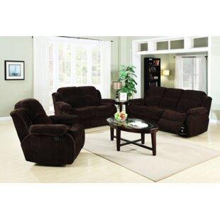 Flair Austin Reclining Configurable Living Room Set