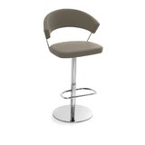 New York Adjustable Height Swivel Bar Stool by Connubia