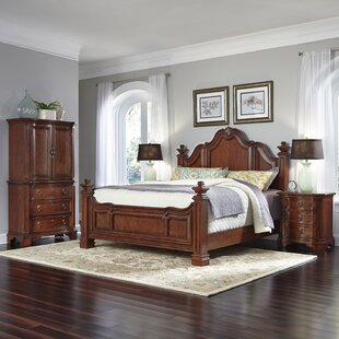 Plains Platform 4 Piece Bedroom Set by Astoria Grand Cheap