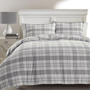 mulholland plaid 100 cotton comforter set by laura ashley home