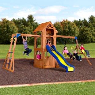 Backyard Discovery Parkway Swing Set