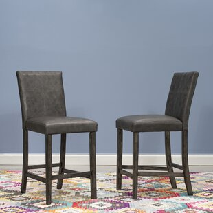 Palou Bar Stool (Set of 2) by Gracie Oaks
