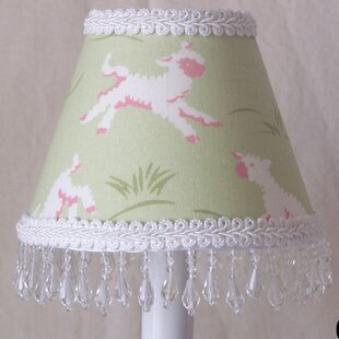 Mary's Little Lamb 11 Fabric Empire Lamp Shade