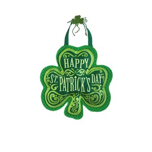 Happy Shamrock Wall D?cor by The Holiday Aisle