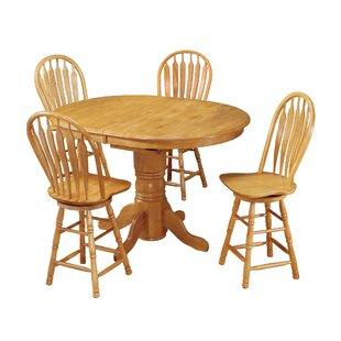 Lockwood 5 Piece Pub Table Set
