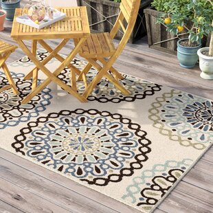 Henderson Beige Indoor/Outdoor Area Rug
