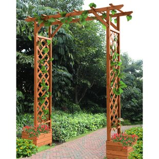 Sunjoy Mandy Trellis Wood ..