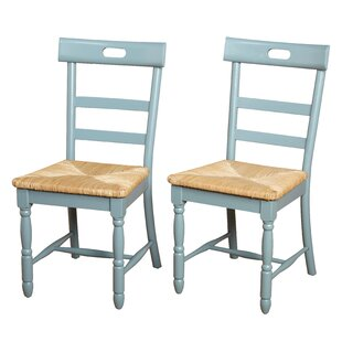 Alburg Solid Wood Dining Chair (Set of 2)