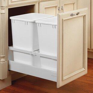 Rev-A-Shelf Servo Double 8.75 Gallon Pullout Trash Cans