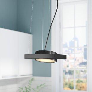 Orren Ellis Cheleb 1-Light LED Geometric Pendant