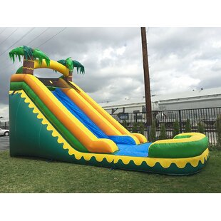 JumpOrange Tropical Aloha Bounce House