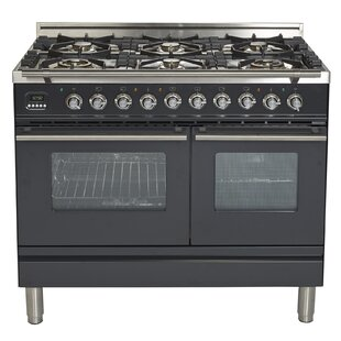 40 Free-standing Dual Fuel Range by ILVE