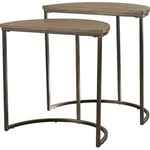 Euphemia 2 Piece Nesting Tables (Set Of 2)