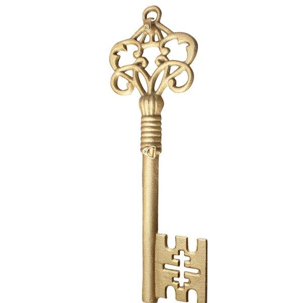 Antique Vintage Style Cast Iron Large Skeleton Key