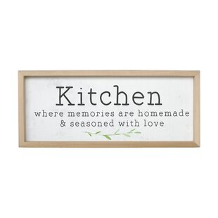 Kitchen Wall Decor Wayfair