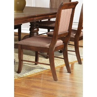 Poppy Upholstered Dining Chair (Set of 2) Alcott Hill