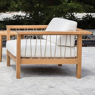 OASIQ Maro Teak Patio Chair with Cushions