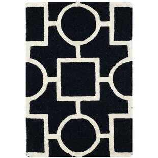 Bargain Martins Black Area Rug By Wrought Studio