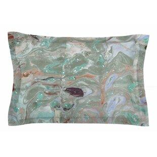 Danii Pollehn 'Nude Marble' Watercolor Sham