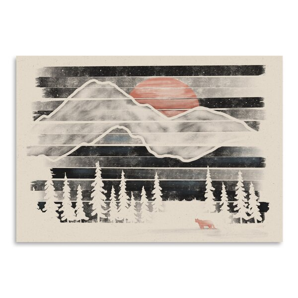 East Urban Home 'mountain Lion At Midnight' Print by East Urban Home