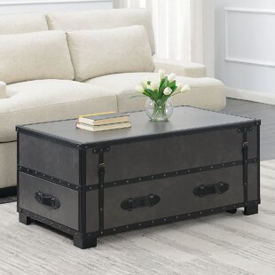 Elijah Coffee Table with Storage by 17 Stories