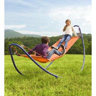 HearthSong Rockin 2-in-1 Hammock with Stand