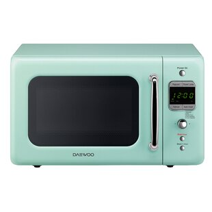 Retro 17.6'' 0.7 cu. ft. Countertop Microwave by Daewoo