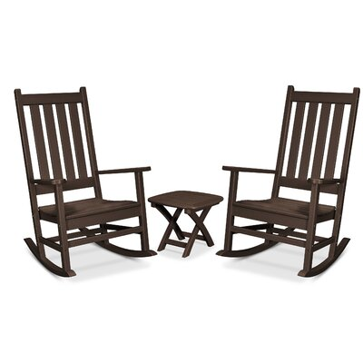 Trex Outdoor Cape Cod 3 Piece Seating Group Frame Finish: Vintage Lantern