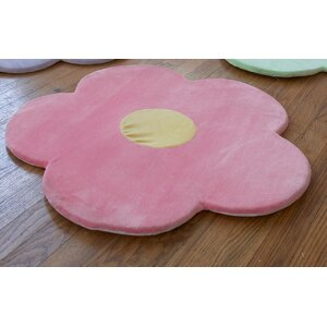 Baldree Daisy Flower Kids Indoor/Outdoor Area Rug