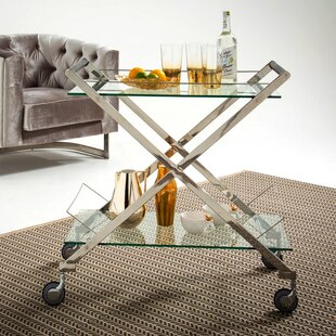 Bates Serving Cart By Canora Grey