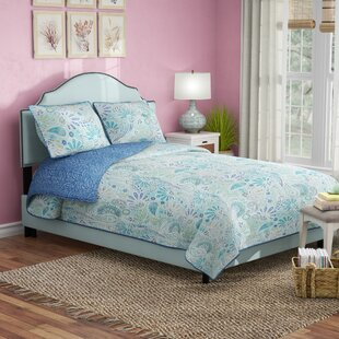 Revley Upholstered Panel Bed by Beachcrest Home