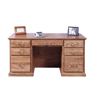 Jeffries Corner Drawer Executive Desk