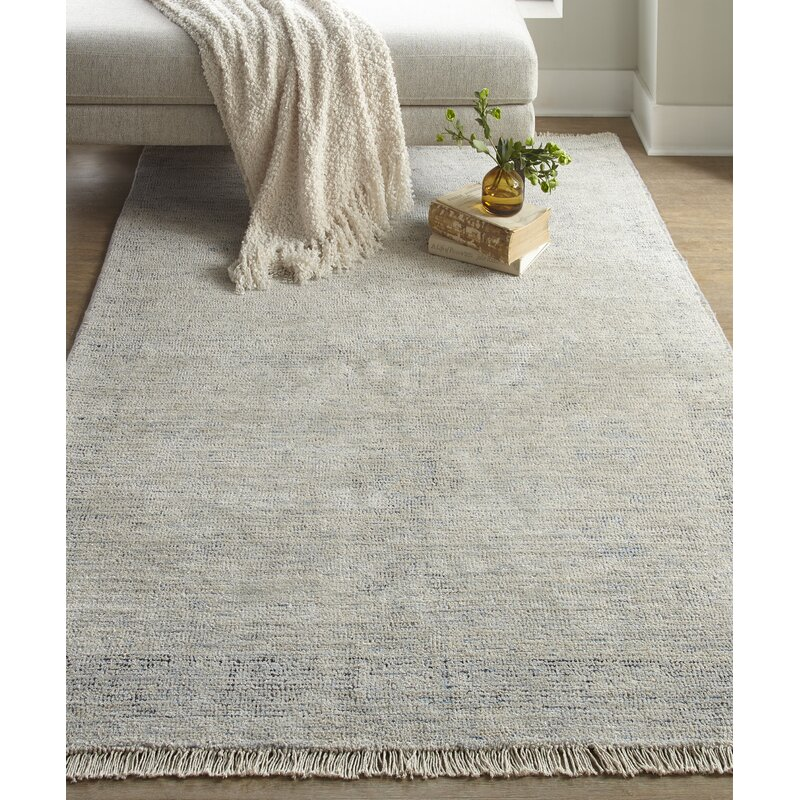 Darby Home Co Feaster Hand Tufted Beige Area Rug Wayfair