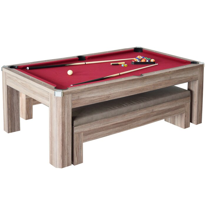 Newport 2 Piece 7\u0027 Pool Table Set  sc 1 st  Wayfair & Hathaway Games Newport 2 Piece 7\u0027 Pool Table Set \u0026 Reviews | Wayfair.ca