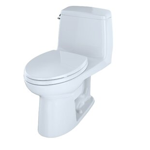 Affordable Ultimate Power Gravity Low Consumption 1.6 GPF Elongated One-Piece Toilet (Seat Included) By Toto