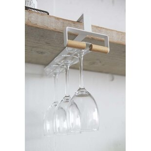 Bermondsey Under Shelf Wine Glass Rack by..