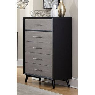 Top Brands of Leisa 5 Drawer Standard Chest by Corrigan Studio