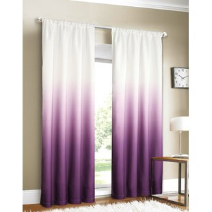 . Purple Ombre Curtains   Wayfair