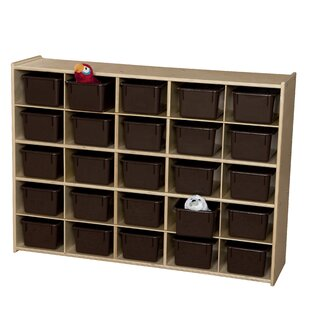 Best Contender 25 Compartment Cubby By Wood Designs