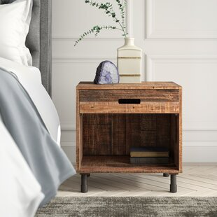 Judsonia 1 Drawer Nightstand by Greyleigh
