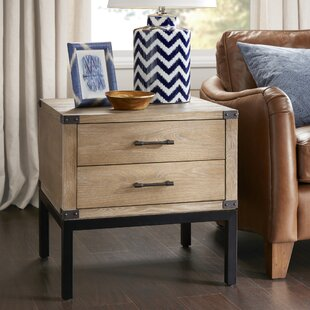 Fraser End Table with Storage by Harbor House