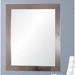Best Choices Modern USA Silver Wall Mirror ByBrandt Works LLC