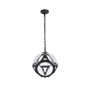Unionville 1-Light LED Globe Pendant by Brayden Studio
