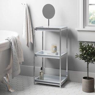Cavazos 31 X 79cm Bathroom Shelf By Rebrilliant