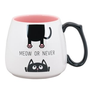 Brunson Meow or Never Coffee Mug